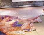 Tái tạo bức tranh của Michelangelo với 250.000 khối rubik