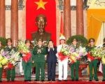 Phong quân hàm thượng tướng và đô đốc cho 9 cán bộ cao cấp
