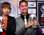 Thủ môn Kiều Trinh nhận giải 'Cầu thủ nữ xuất sắc nhất Đông Nam Á 2012'