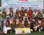 Báo Tuổi Trẻ đoạt cúp vô địch giải bóng đá Hội Nhà báo
