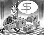 Khó minh bạch hóa tiền công đức