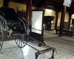 Xe kéo 108 tuổi của vua Thành Thái về lại hoàng cung Huế