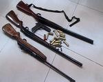 """Triệt phá """"xưởng"""" sản xuất súng tại Quảng Ninh"""