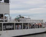 Tàu lực lượng bảo vệ bờ biển Ấn Độ thăm TP.HCM