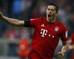 Lewandowski ghi 5 bàn trong 9 phút giúp Bayern đè bẹp Wolfsburg