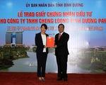 Đài Loan đầu tư nhà máy giấy 1 tỷ USD tại Bình Dương