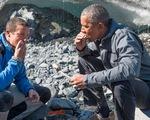 Tham gia truyền hình thực tế, ông Obama từ chối uống... nước tiểu