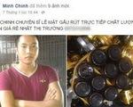 Công khai rao bán cao hổ, mật gấu, đại bàng trên Facebook