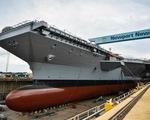 Hàng không mẫu hạm dài 335m đắt tiền nhất của Mỹ
