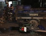 Truy tìm chiếc xe tải cán chết người trên Quốc lộ 60