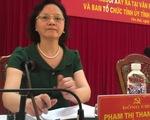 Bà Phạm Thị Thanh Trà được bầu làm Bí thư Tỉnh ủy Yên Bái