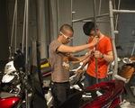 Ưu Đàm triển lãm sắp đặt xe gắn máy tại Nhật