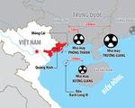 Ứng phó 3 nhà máy điện hạt nhân Trung Quốc sát biên giới