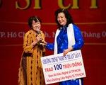 Nghệ sĩ Kim Cương chia sẻ cùng hàng trăm nghệ sĩ