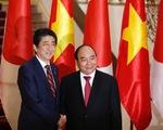 Ảnh lễ đón Thủ tướng Nhật Shinzo Abe tại Hà Nội