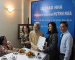 Trao tặng căn nhà hơn hai tỉ cho NSND Huỳnh Nga