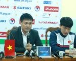 HLV Hữu Thắng lo tuyển thủ dính chấn thương vì mặt sân quá xấu