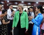 Hiệu trưởng ĐH Harvard nói chuyện với sinh viên Sài Gòn