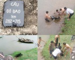Chụp ảnh trên cầu đường sắt, một nữ sinh rơi sông tử vong