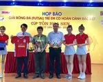 Giải bóng đá trẻ em có hoàn cảnh đặc biệt 2017 đến Bình Định
