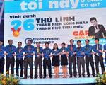 Tôn vinh 26 thủ lĩnh thanh niên công nhân thành phố tiêu biểu