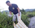 Người nhặt rác ở Sơn Trà