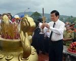 1.200 cựu tù thăm nghĩa trang liệt sĩ Phú Quốc