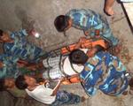 Bộ đội 3 đảo ở Trường Sa chung tay cấp cứu ngư dân