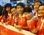 Người TP.HCM, Hà Nội đón những người hùng đội tuyển nữ VN