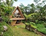 """Khám phá ngôi nhà bằng tre xinh xắn ở """"thiên đường nghỉ dưỡng"""" Bali"""