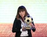 Thanh Trung và Kiều Trinh giành Quả bóng Vàng VN 2017