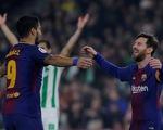 Bùng nổ trong hiệp hai, Barca đè bẹp Real Betis