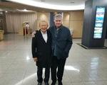 Ông Hiddink sang Hàn Quốc chúc mừng HLV Park Hang Seo