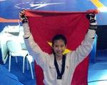 Kim Ngân lần thứ hai vô địch taekwondo trẻ thế giới