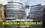 Choáng ngợp khách sạn dưới lòng đất đầu tiên trên thế giới