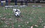 Video chó robot chơi đá bóng và nhảy lộn ngược đẹp mắt