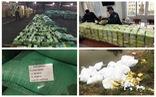 Rùng mình cảnh ma túy đựng trong bao tải, chất thành đống tuồn vào Việt Nam