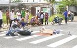 Video xe khách tông xe máy làm 1 người tử vong