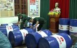 Phát hiện hàng ngàn lít dầu nhớt giả đưa đi tiêu thụ ở Đà Nẵng