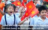 Bình Dương xây dựng nhiều trường học mới chăm lo con em người lao động