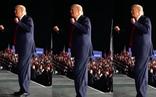 Những khoảnh khắc nhún nhảy vui vẻ của ông Trump trước đám đông