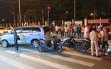 Vụ xe 7 chỗ tông 10 xe máy, 13 người bị thương: Tài xế khai do thiếu quan sát