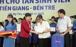 70 tân sinh viên nghèo Tiền Giang, Bến Tre được tiếp sức