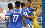 Video: Rượt đuổi tỉ số kịch tính, bàn thắng phút cuối giúp Quảng Ninh đánh bại Nam Định