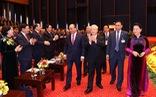 Ảnh lãnh đạo Đảng, Nhà nước và các đại biểu tại phiên họp trù bị Đại hội Đảng XIII