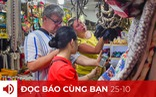 Đọc báo cùng bạn 25-10: Việt Nam đón khách quốc tế từ tháng 11