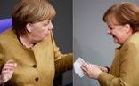 Khoảnh khắc đáng yêu khi bà Merkel 'hốt hoảng' vì quên khẩu trang