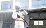 15 xe đặc chủng phun khử trùng tiêu độc tại Bệnh viện Bệnh nhiệt đới trung ương
