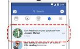 Facebook cho người dùng đánh giá quảng cáo