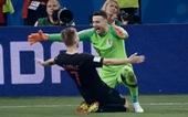 Clip các bàn thắng đẹp và pha cứu thua ở tứ kết World Cup 2018